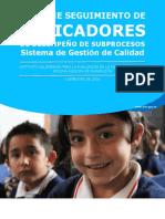 Informe seguimiento indicadores i semestre 2016 v2