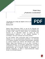 Robert Alexy by Eddy Urgiles