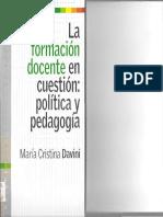 La Formacion Docente en Cuestion Politica Y Pedag.pdf
