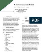 informe de instrumentación industrial