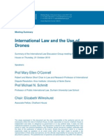 Drones and International Law