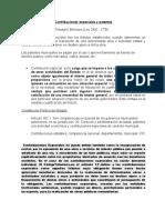 Contribuciones especiales y patentes