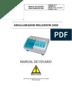 MANUAL AMALGAMADOR MILLENIUM-2000