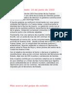 Golpe de estado del 55 y segunda presidencia de perón