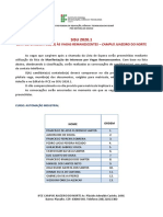 Lista_Vagas Remanescentes - Campus Juazeiro