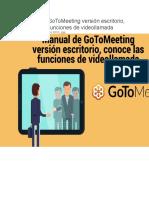 Manual de GoToMeeting versión escritorio