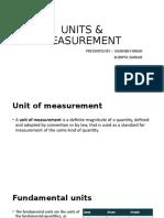 Units & measurement Part-1