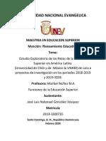 Estudio Exploratorio de los Retos de la Educción Superior en América Latina de cara a proyectos de investigación..docx