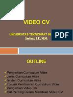 Video CV.ppt