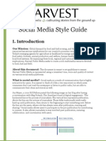 Social Media Style Guide 2