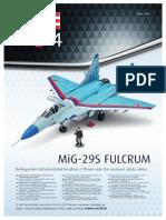MIG 29S Fulcrum - Revell