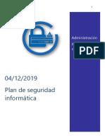 Proyecto Plan de seguridad informática