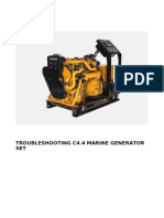 Troubleshooting C4 4 Marine Generator Set