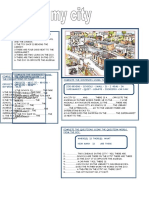 PREP OF PLACE Worksheet
