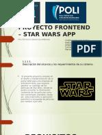 PROYECTO FRONTEND – STAR WARS APP