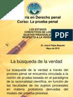 TERCERA CLASE LA Prueba Penal
