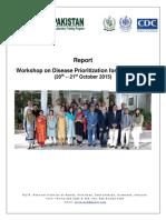 Disease Prioritization for Surveillance Workshop Report NIH 2015