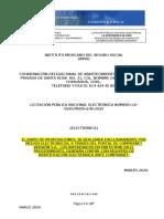 CONVOCATORIA LA-050GYR009-E49-2020 INSUMOS DE CONSERVACION