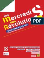Mercredi des Revolutions Paris 18