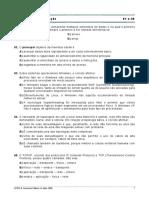 Prova 303 - COMPERVE-UFRN - Técnico de Tecnologia da Informação - 2006