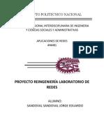 Proyecto Reingeniería de Laboratorio de Redes