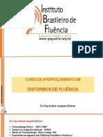 Etiologia Gagueira - Fluência