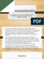 Razonamiento  diapositivas