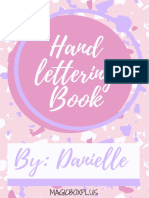 Hand lettering book vol