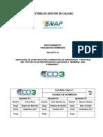 CO3-PRO-17042-17 Vaciado de hormigón rev. 00