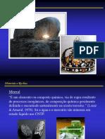 Minerais e Rochas. Obsidiana (fonte_   c_minerals) Carvão (fonte_.pdf