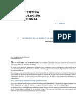 UNA AUTÉNTICA REFORMULACIÓN INSTITUCIONAL