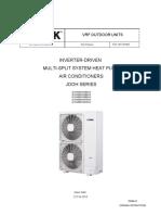 YORK Mini VRF ODU _ JDOH(040 to 060) _ Installation Manual _ FAN-1707 201602