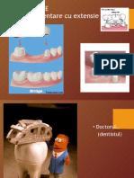 punti dentare cu extensie