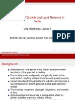 Land Reform - 2
