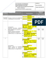 Cronograma Administracion y Control de Inventarios.