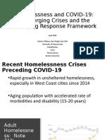 Homelessness and COVID-19 Presentation