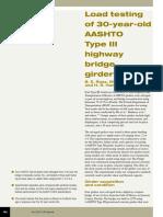 Load testing of 30-year-old AASHTO Type III highway bridge girders.pdf