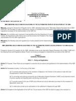 department circular 98 s. 2009