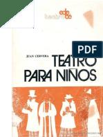 JUAN CERVERA - TEATRO PARA NIÑOS