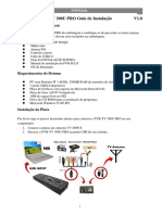 PVR-TV 300U PRO Installation Guide V1.0 Por