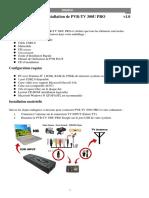PVR-TV 300U Pro Installation Guide V1.0 Fr