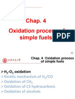 4_Oxidation process of simple fuels
