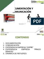 Documentación y comunicación