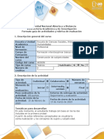 Guía de actividades y rubrica de evaluación - Fase 2 - Contextualizar, delimitar y definir los conceptos de sujeto y subjetividad