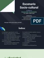 Unidad-iii-Escenario Socio-cultural