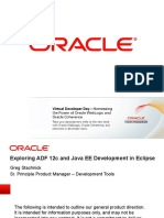Exploring ADF 12c and Java EE Development in Eclipse