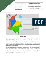 GUIA N° 3 REGIONES NATURALES DE COLOMBIA