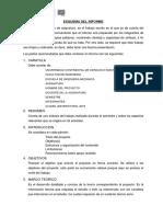 MA 01.- Esquema de informe de proyecto
