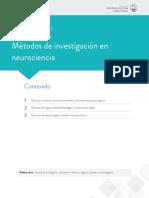 METODOS DE INVESTIGACION EN NEUROCIENCIA