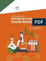 Guía de Apoyo para investigación escolar (Ciencias Naturales)